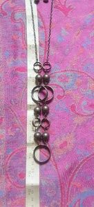 Necklace with matching earings